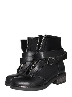 Ботинки черные   5502014