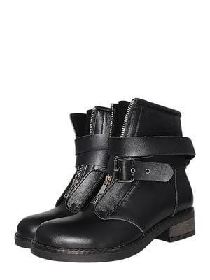 Ботинки черные   5502017