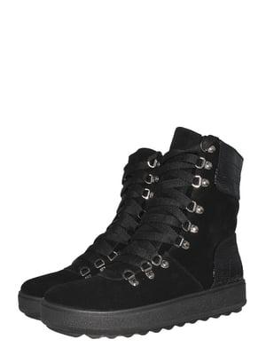 Ботинки черные   5502019