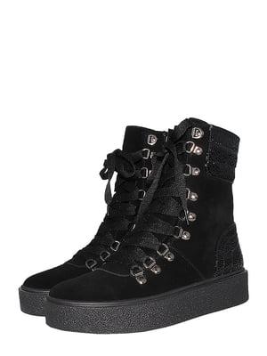 Ботинки черные   5502021