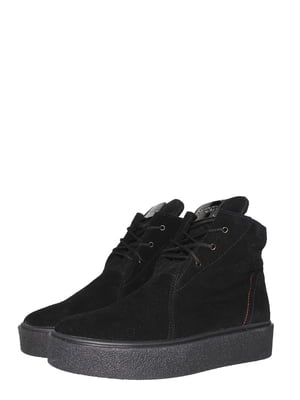 Ботинки черные   5502023