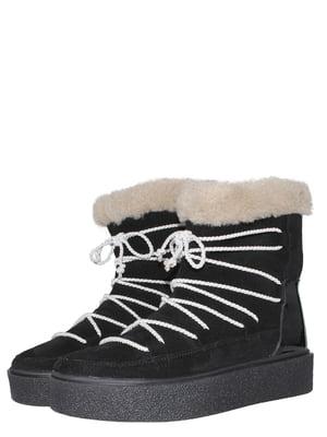 Ботинки черные | 5502025