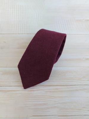 Краватка вишневого кольору | 5491043