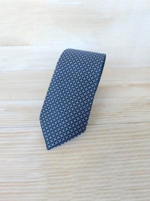 Краватка синя з вкрапленнями   5491047