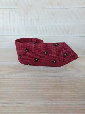 Краватка червона в ромб | 5491049