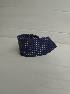 Краватка синя в горошок | 5491055
