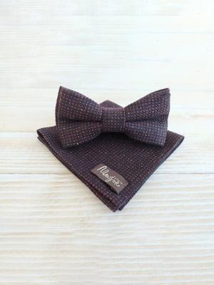 Набор: галстук-бабочка и платок «паше» | 5491070