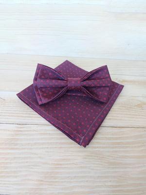 Набор: галстук-бабочка и платок «паше» | 5491081