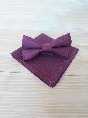 Набор: галстук-бабочка и платок «паше» | 5491082