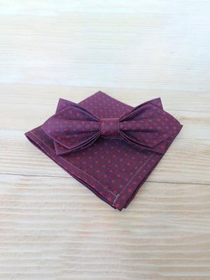 Набор: галстук-бабочка и платок «паше» | 5491083