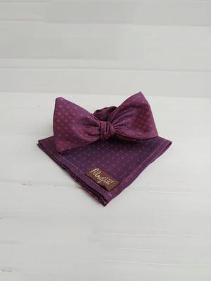 Набор: галстук-бабочка и платок «паше» | 5491102