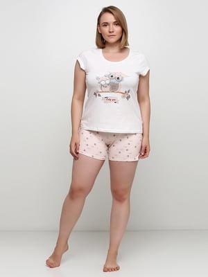 Пижама: футболка и шорты | 5484114