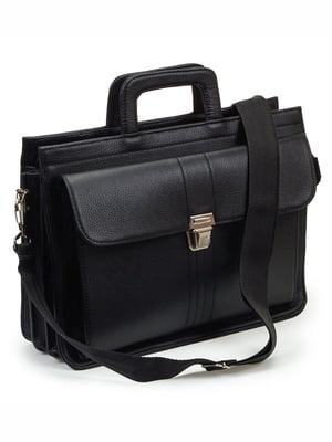 Портфель чорний | 5502575