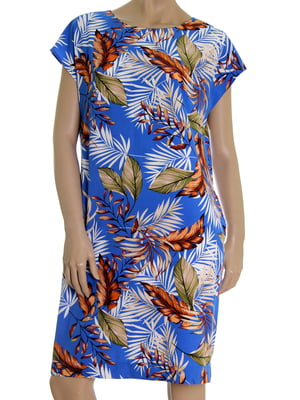 Сукня в рослинний принт | 5502872