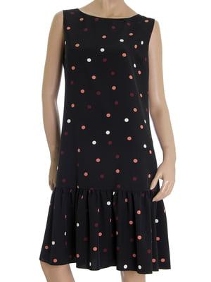 Платье черное в горох | 5502877