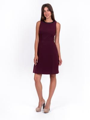 Сукня бордова | 5502915