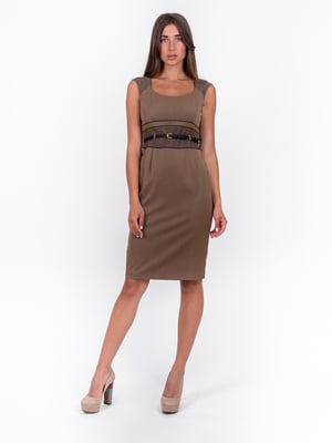 Платье коричневое | 5502918