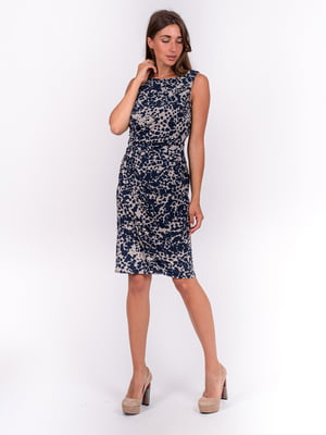 Платье с пятнистым принтом | 5502920