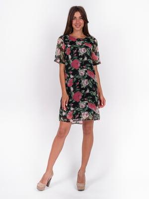 Платье с цветочным принтом | 5502921
