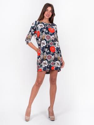 Платье с цветочным принтом | 5502950