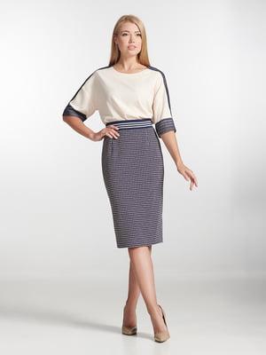 Блуза цвета пудры с полоской | 5304091