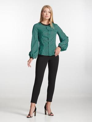 Блуза зеленая | 5343230