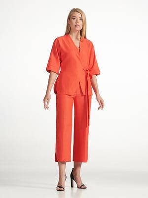 Брюки оранжевые | 5343241