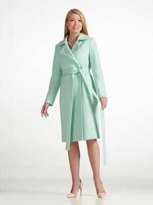 Пальто салатового цвета | 5343262