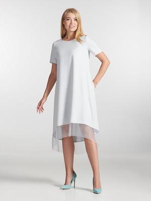 Платье серое | 5343270