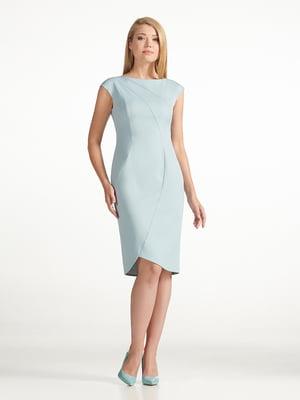 Платье голубое   5343293