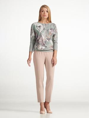 Блуза з квітковим принтом | 5441272