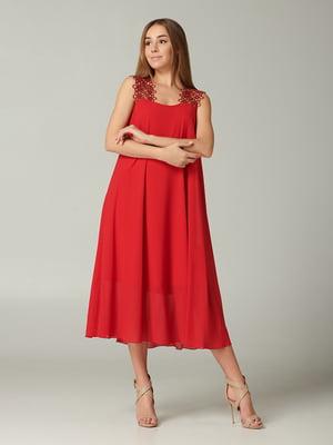 Платье красное | 5441321