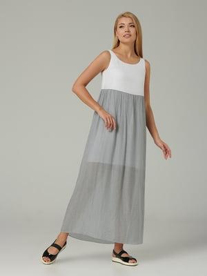 Сукня сіро-біла | 5441372