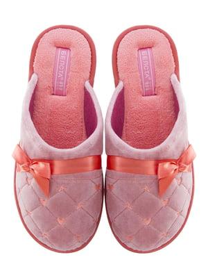 Тапочки рожеві | 5503022