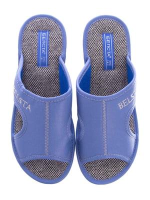 Тапочки блакитні | 5503025