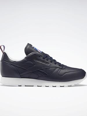 Кросівки темно-сині з логотипом | 5503007