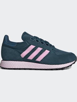 Кросівки зелені з логотипом | 5503120