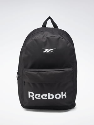 Рюкзак черный с логотипом | 5503128