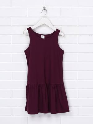 Платье баклажанного цвета | 5503138