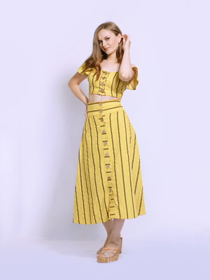 Костюм: юбка и топ | 5503818