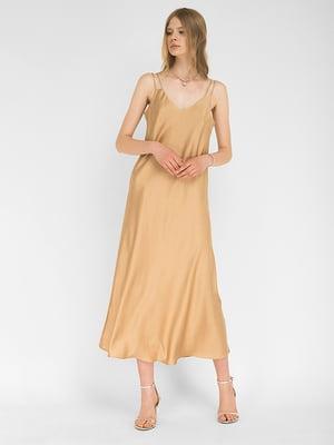 Сукня золотистого кольору | 5504174