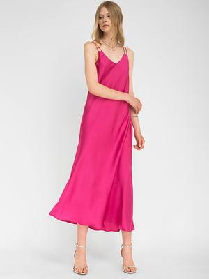 Сукня малинового кольору | 5504175