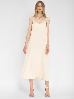 Сукня молочного кольору | 5504177