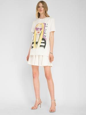 Комплект: футболка и юбка | 5504181