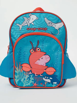 Рюкзак разноцветный с принтом | 5504645