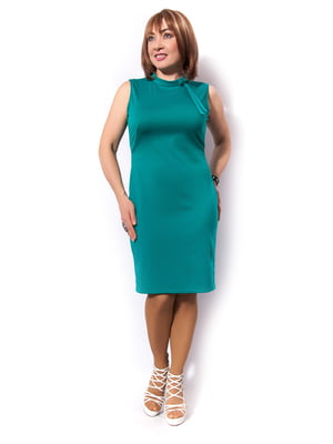 Платье бирюзовое | 5504657