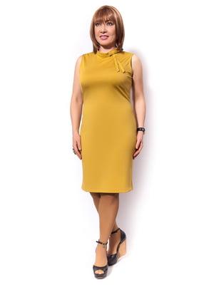Сукня гірчичного кольору | 5504658