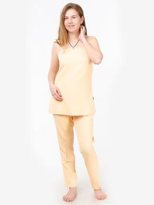 Костюм: блуза-топ і штани | 5504670