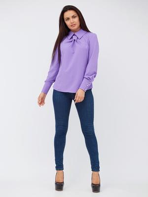 Рубашка сиреневого цвета | 5504915