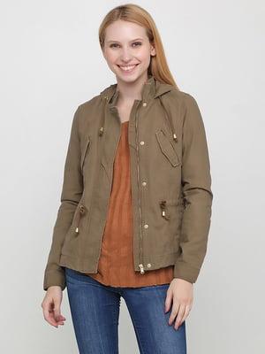 Куртка цвета хаки   5507173